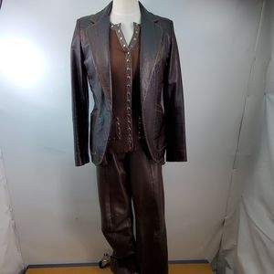 CACHE AWESOME LEATHER JACKET SIZE 6
